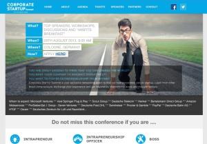etventure ist Hauptsponsor beim Corporate Startup Summit