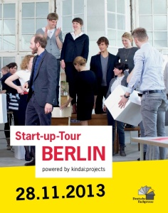 """etventure ist Teil der ersten """"Startup-Tour Berlin"""" der Deutschen Fachpresse"""