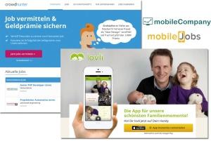 Startup-Portfolio 2013: 4 neue Unternehmensgründungen