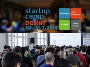 Philipp Herrmann als Speaker beim Startup Camp Berlin