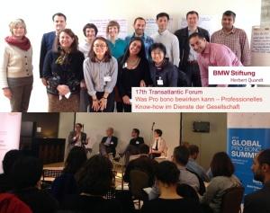 Christian Lüdtke beim Summit der BMW Stiftung Herbert Quandt