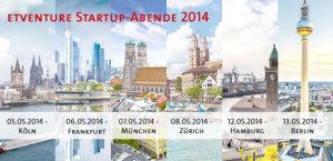 etventure Startup-Tour im Mai 2014