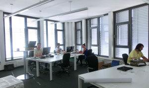 Das Münchner Team in neuen Räumlichkeiten