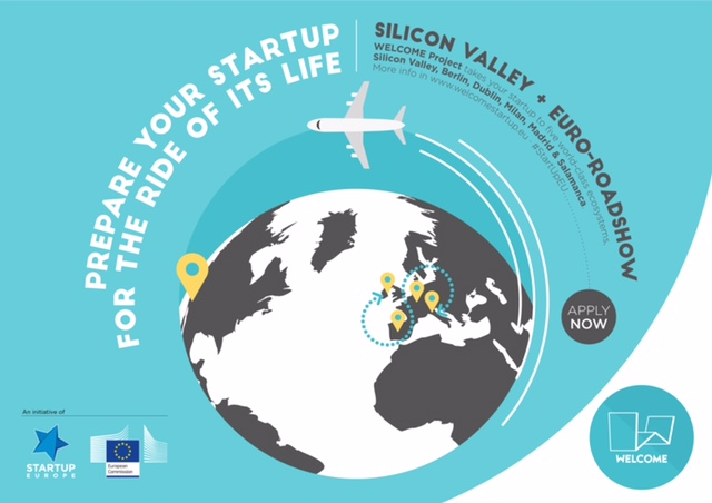 WELCOME_Silicon Valley-Tour & EU-Roadshow