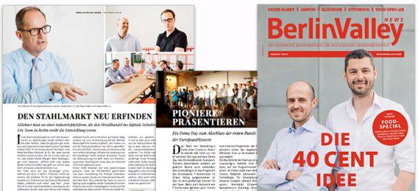 Berlin Valley News - etventure / Klöckner POSpulse and EuropeanPioneers