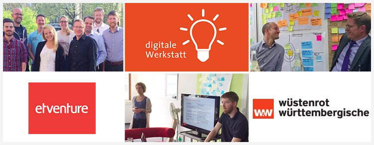 Digitalisierung in der Finanzbranche: etventure unterstützt die Wüstenrot & Württembergische-Gruppe bei der digitalen Transformation