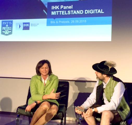 """Ilse Aigner, Wirtschaftsministerin Bayerns: """"Digitalisierung wird im Mittelstand oftmals sehr verkürzt diskutiert."""""""