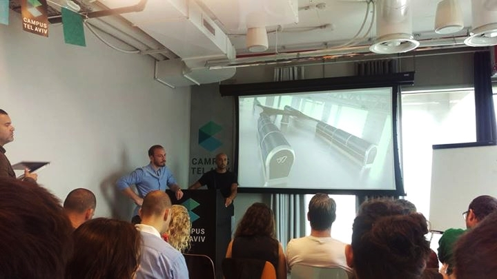 Watly präsentiert ihre Solar Wasseraufbereitungsanlage auf den EuropeanPioneers Training Days in Tel Aviv