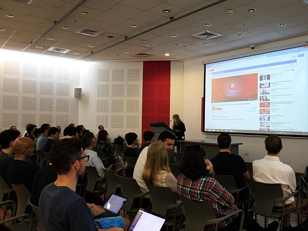 Gili Golander - Growth Hacking Expertin - Training Days Tel Aviv