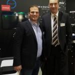 Burkhard Dahmen - CEO SMS Group - hoher Besuch am etventure Kienbaum Stand auf dem TDI