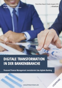 Titelblatt FintechStars_Digitale Transformation in der Bankenbranche_Nov15