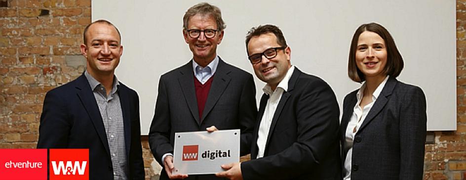 etventure und Wüstenrot & Württembergische AG gründen Joint Venture für die Digitalisierung