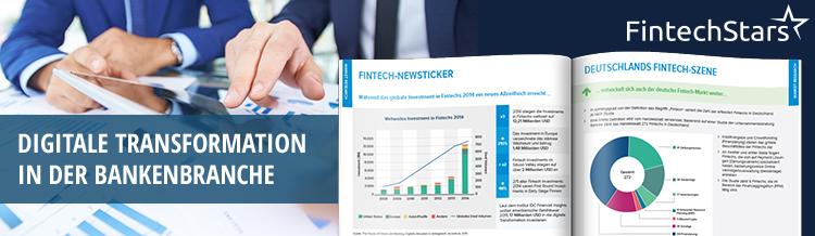 """FintechStars, die FinTech-Unit der Startup-Schmiede und Digitalberatung etventure, veröffentlicht den neuen Trendreport zum Thema """"Personal Finance Management revolutioniert das digitale Banking""""."""