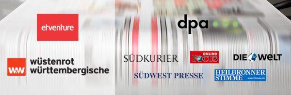 etventure und W&W im dpa-Newsticker