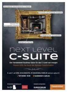 Anzeige Handelsblatt C-Suite