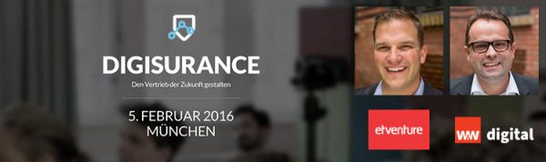 etventure and W&W Digital GmbH at Digisurance