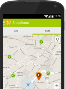 Shopscout-App Geofencing