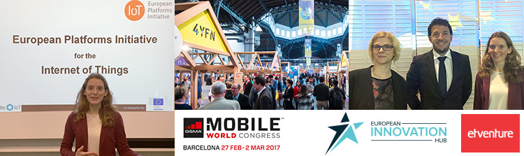 Der European Innovation Hub beim Mobile World Congress und 4YFN.