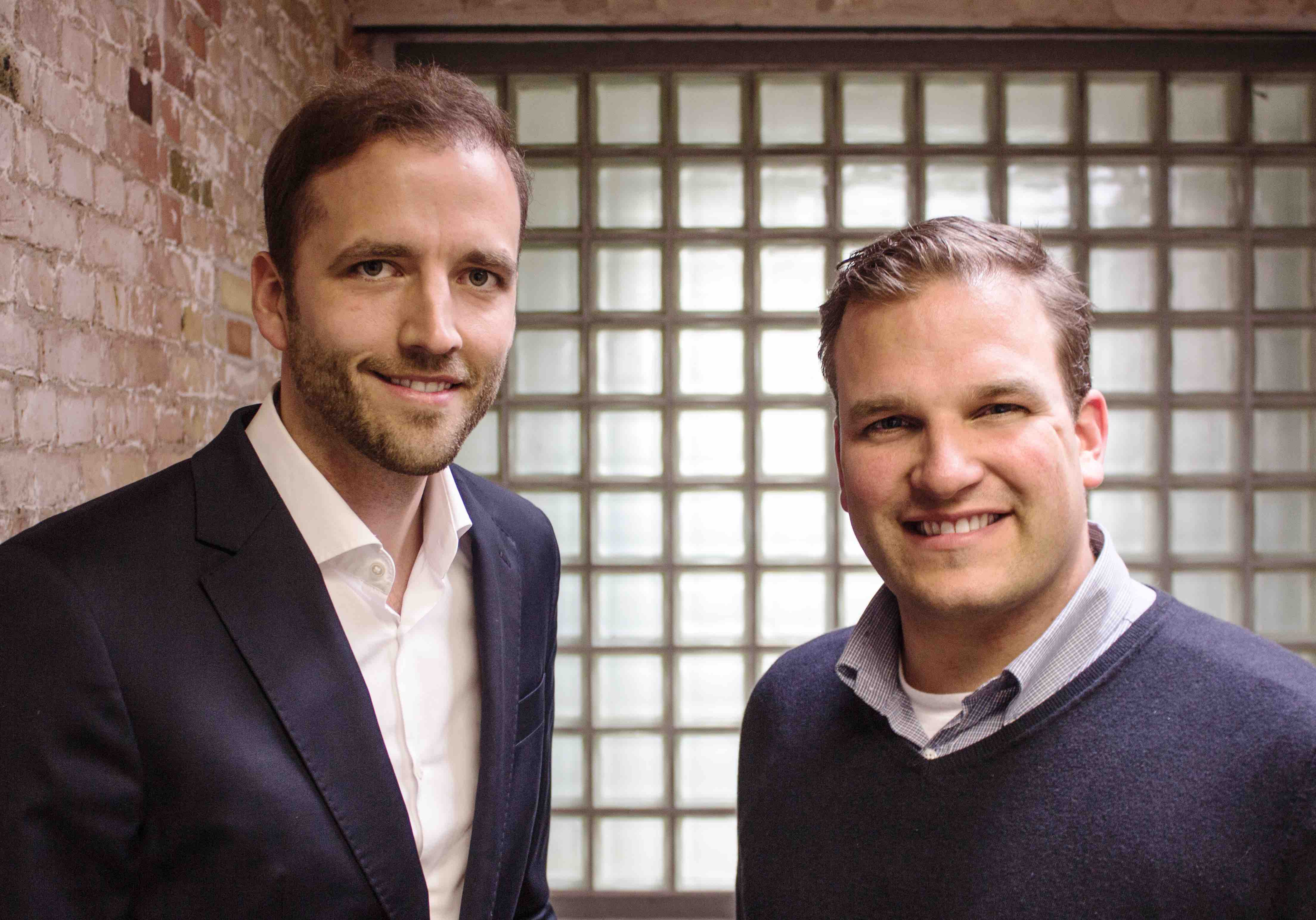 Fabian Kienbaum und Philipp Depiereux