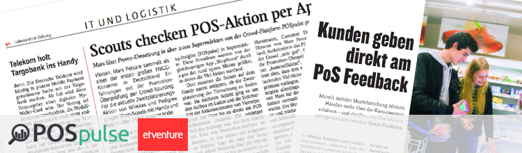 Positive Medienberichte und neue Projekte für POSpulse