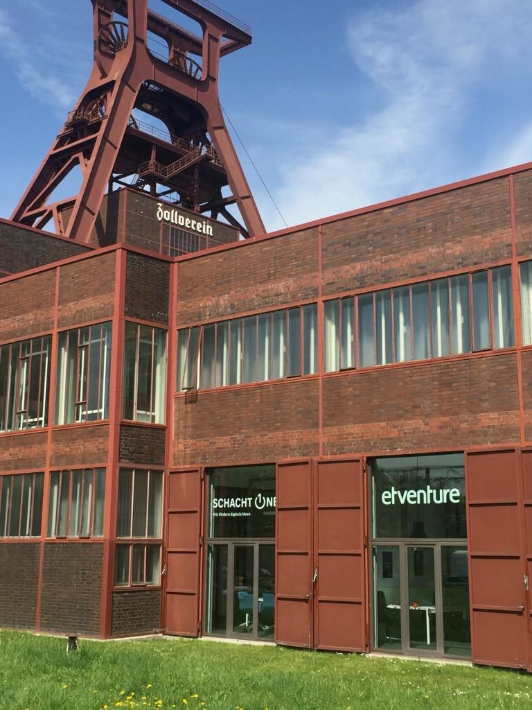 Schacht One und etventure Büro auf Zeche Zollverein