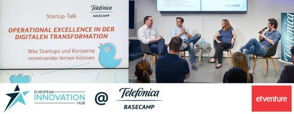 Der European Innovation Hub beim Startup Talk von Telefónica