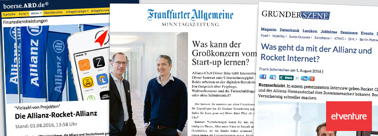 Rocket Internet und Allianz