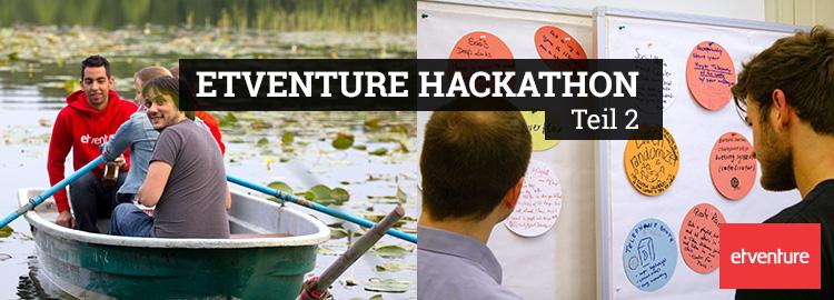 Das Motto des etventure Hackathon: Let's make the World a Better Place.