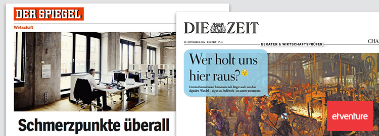 Wie man die old economy digitalisiert etventure in for Spiegel wochenzeitung