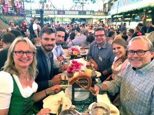 "Roundtable ""Digital Transformation"" and Oktoberfest party"