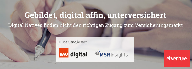 Versicherungen für Digital Natives