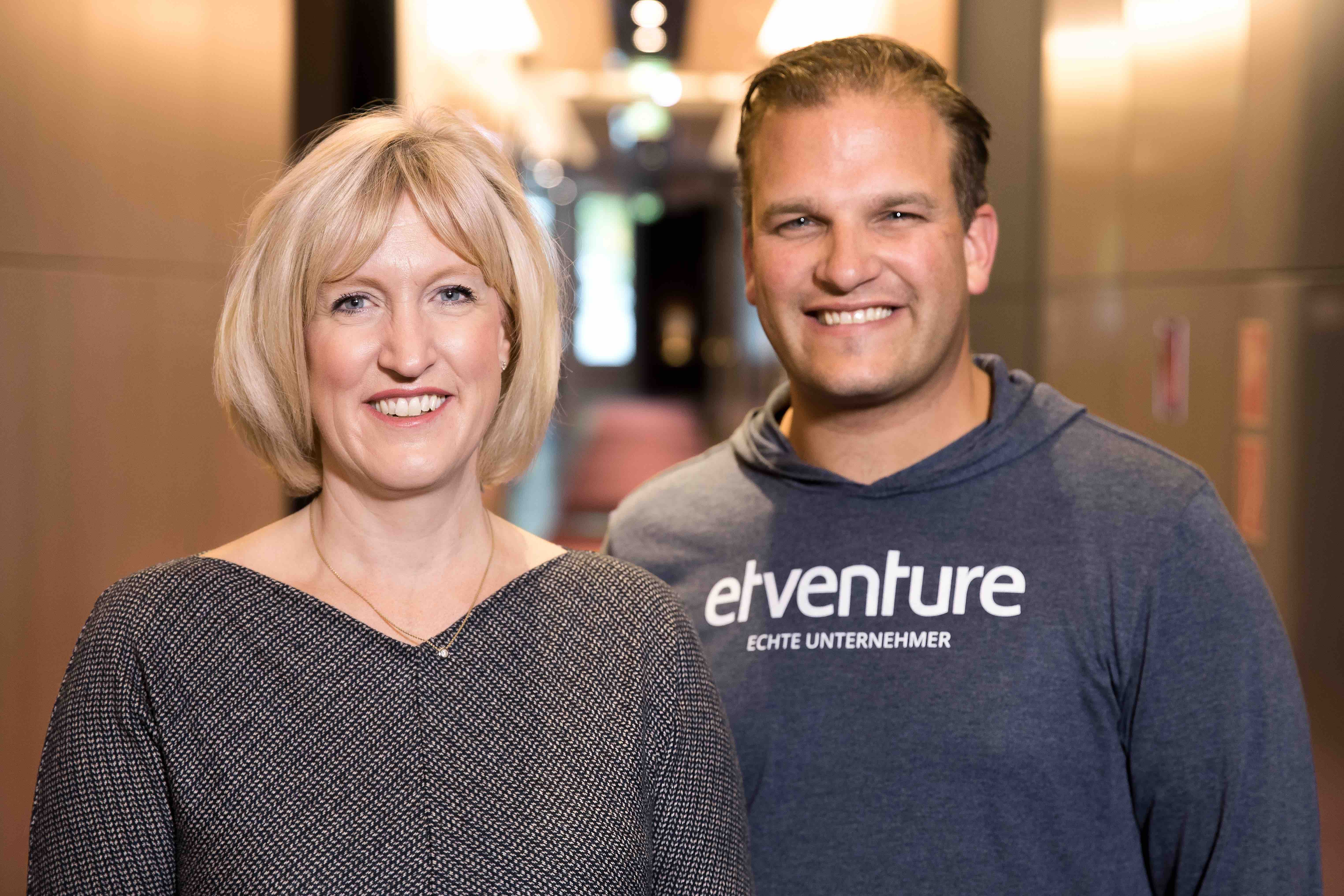Julie Teigland, EY, and Phillipp Depiereux, etventure