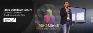 Christian Lüdtke beim Ruhr Summit