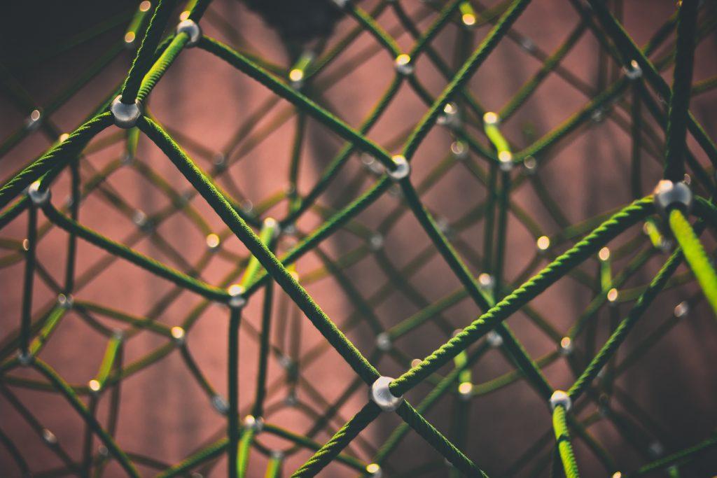Netz aus Daten