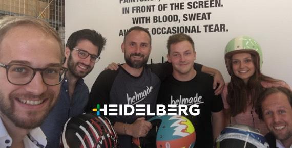 Heidelberger Druckmaschinen hat für eine digitale Produktlinie ein Geschäfts-Modell identifiziert und Großkunden