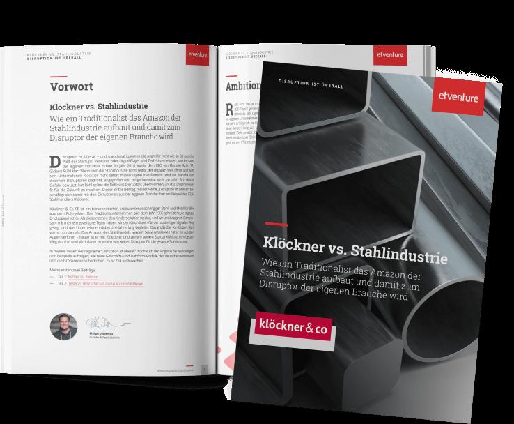 Case Studie - Klöckner vs. Stahlindustrie - Disruption ist überall
